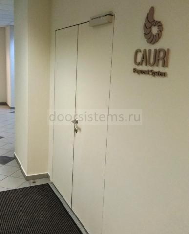 Доводчик DORMA (dormakaba) TS-97 в офисе Cauri