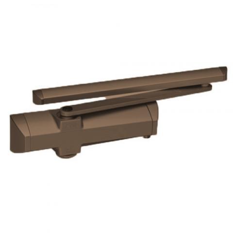 Доводчик двери DORMA (Дорма) TS-90 . Цвет: Темно-коричневый. Фото.