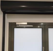 Доводчик Geze TS-5000 в салоне красоты